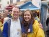 Tomi ja Malla vaalikadulla 22.10.2012